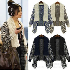 Hot Sale Women's Long Sleeve Knitted Cardigan Loose Casual Sweater Jacket Coat