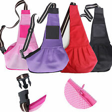 6 Colors S M L Size Pet Dog Cat Sling Carrier Shoulder Strip Sling Travel Bag US