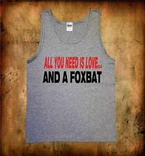 All you need is a Foxbat quality cotton Singlet sports aircraft ultralight fly
