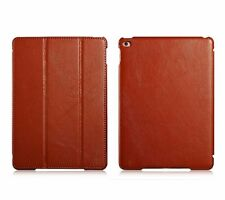 Real Genuine Leather Smart Wake/Sleep Stand Case Cover for iPad Air 2 iPad 6