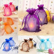 30/100pcs Nice Organza Jewelry Packing Pouch Wedding Favor Gift Bags,hot