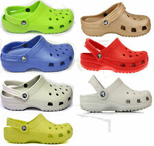 CROCS UNISEX CAYMAN SLING BACK CLOG STYLE MULES SHOES IN 7 DIFFERENT COLOUR