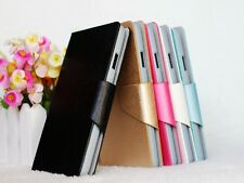For ZTE Skate V960 Silk Pattern PU Leather Flip Stand Wallet Case Cover