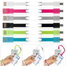 Silicone Wrist Bracelet Data Sync Charge Micro USB Cable fr Android Smart Phones