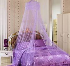 New Round Lace Curtain Dome Bed Canopy Netting Princess Mosquito Net 5 Colors