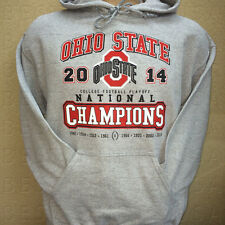 OHIO STATE UNIVERSITY FOOTBALL 2014 NATIONAL CHAMPIONS HOODIE SWEATSHIRT