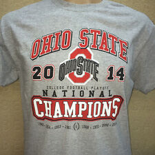 OHIO STATE UNIVERSITY FOOTBALL 2014 NATIONAL CHAMPIONS T-SHIRT