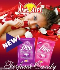 Deo AROMA perfumed candy: lavender scent / or rose oil – SELECT: