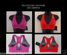 NIKE WOMEN'S VICTORY DEFINE DEFINITION HIGH IMPACT DRI-FIT SPORTS BRA TOP 605711