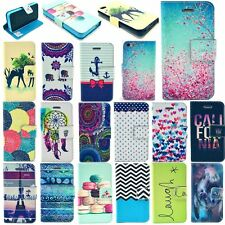 Various Phone Fashion Flip Stand Hybrid Magnetic Wallet Leather Case Cover New