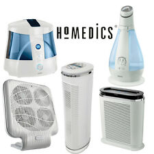 HoMedics Professional Air Purifier Ultrasonic UV-C Humidifier Coil Technology