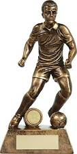 Football Trophies Resin Gold Football Male Figure Award 5 Sizes FREE Engraving