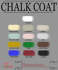 Chalk Coat Furniture Chalk Paint - 1 Litre - Shabby Chic - Full Colour Range