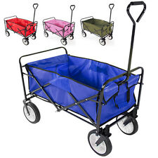 Foldable Utility Cart Collapsible Garden Wagon Shopping Mac Sports Beach Toy US
