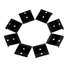 Wholesale Lots Display Card Fit Snap Button Black Lint Plastic 4.2x4cm