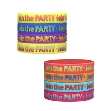 ZUMBA FITNESS Dance~8 PK Rubber Bracelets fr.Convention Can be a LOT ~ RARE