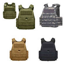 Black Olive Drab ACU Digital Camo Coyote Brown Tan MOLLE Plate Carrier Tac Vest