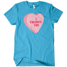 I Tolerate You Men's T-Shirt Valentines Day Gift Funny Candy Tee Love Present