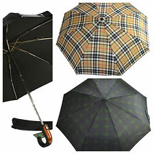 CLIFTON Umbrella - Men's Automatic Folding Umbrella - Choose Colour
