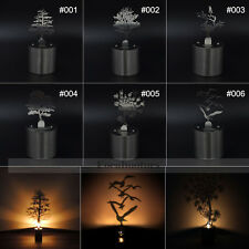 LED Shadow Lamp Creative Shadow Led Night Lamp Lumen Oil Candle Shadow Projector
