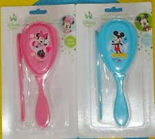 **@ DISNEY BABY MICKEY MOUSE / MINNIE MOUSE BRUSH & COMB SET@**BRAND NEW!!