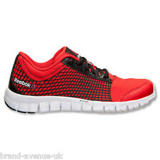 Womens Reebok Z Run Running Gym Trainers Shoes Red Black All Sizes New Boxed