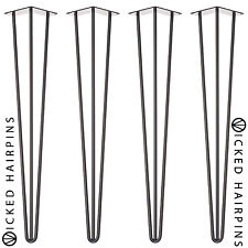 4 x Hairpin Table Legs - FROM £5 PER LEG - Largest Selection of Sizes & Colours
