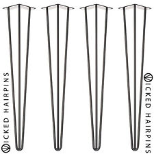 4 x Hairpin Table Legs - Highest Quality & Strongest - Free Next Day Delivery!