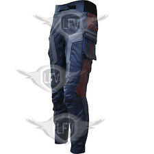 Avengers 2 Age of Ultron Captain America 2015 Movie Leather Trouser / Pants