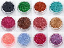 5g 10g PET GLITTER SACCHI IN 60 COLORI NAIL ART FACE PAINT Tatuaggio Eye Shadow