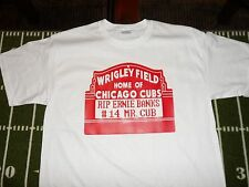 RIP Ernie Banks Wrigley Field Sign Chicago Cubs  T-shirt