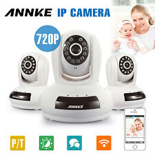 ANNKE 1/2/3x 720P WiFi Wireless IP Camera CCTV Network IR Leds Home Security Lot