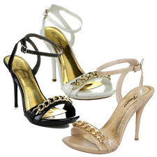 FOREVER ABBE-71 Women's New Hot Fashion Ankle Strap Sandals Sexy Stiletto Heels