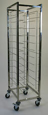 Tray Clearing Trolley 1 x 12 and 2 x 12 Stainless Steel