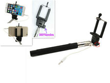 Popular Extendable Selfie Stick Wired  Monopod for IOS 5.01 Android 4.3