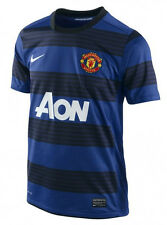 New Manchester United Blue Nike Dri-Fit Jersey Small