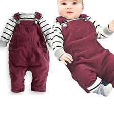 NEW Kids Toddler Baby Girl Jumpsuit Strap Romper Trousers Costume Pants 0.5-2Y