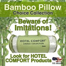 Hotel Comfort Bamboo Pillow Shredded Memory Foam King or Queen (Single or Set)
