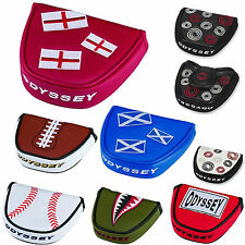 ODYSSEY PUTTER COVER ** NEW 2015 RANGE ** ODYSSEY MALLET PUTTER HEADCOVER GOLF