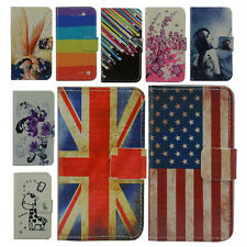 luxury cartoon WALLET LEATHER CASE COVER FOR HUAWEI ASCEND