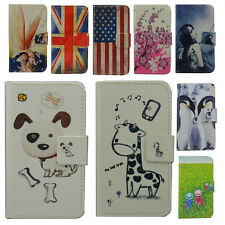 DELUXE cartoon WALLET LEATHER CASE COVER FOR LENOVO
