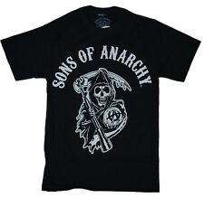 Sons Of Anarchy SOA Reaper Logo Officially Licensed Authentic Adult T-Shirt