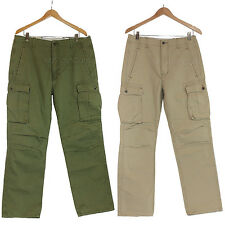 NWT Levi's Strauss & Co. Men 100% Cotton Cargo Pants Relaxed Fit Olive or Khaki