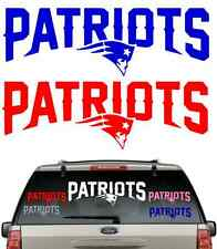 *BUY 2,GET 1 FREE***PATRIOTS NAME CAR DECAL VARIOUS SIZE & COLOR WINDOW STICKER
