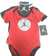 NIKE AIR JORDAN BOYS BODYSUIT SHIRT CLOTHES LOT 3 PC SIZE 12M  NWT $44