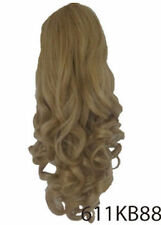 koko hair Long curly half head wig half fall 3/4 hairpiece Various colours