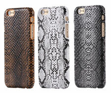 Stylish Snake Skin PU Leather Back Cover Case For iPhone 4 5/5s 5c SE 6 6S  7
