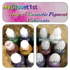 #1 Seller Liquid Glycerin Melt Pour Soap MP Colorants pre-mixed .33 fL color Dye