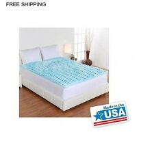 Gel Memory Foam Matress Topper 2in Mattress ALL SIZES Queen King California Twin