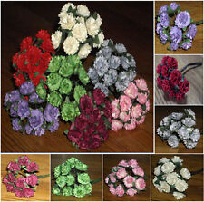 24 x 1 cm Aster Daisy mulberry paper flowers cards/scrapbooking